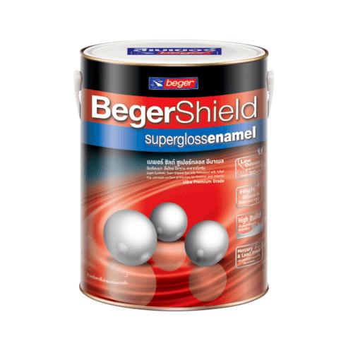 Beger สีน้ำมันเคลือบเงา เบส B Beger Shield (NEW) กล. -