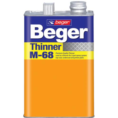 Beger ทินเนอร์  M-68  กล.