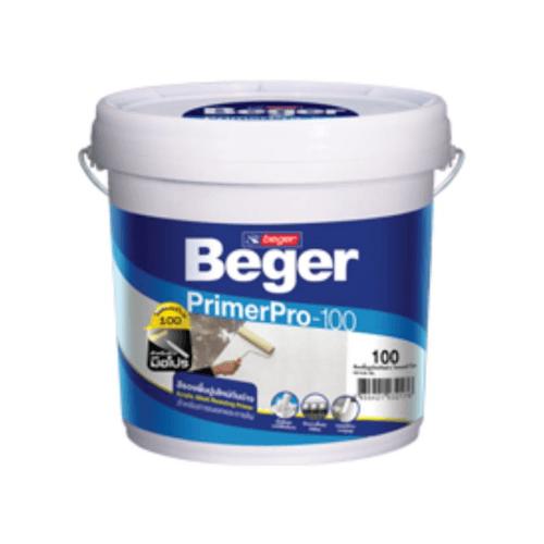 Beger สีรองพื้นปูนใหม่กันด่าง   โปร-100 ถัง