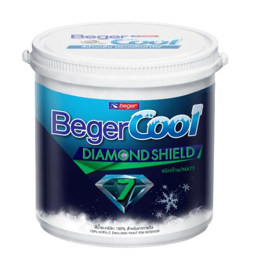 Beger สีทาฝ้า Beger Cool All Plus #3511 กล. สีขาว