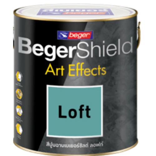 Beger สีเบเยอร์ชิลด์ อาร์ท เอฟเฟ็กซ์ ลอฟท์ AF-0103 (เทาเข้ม)  สีเทา