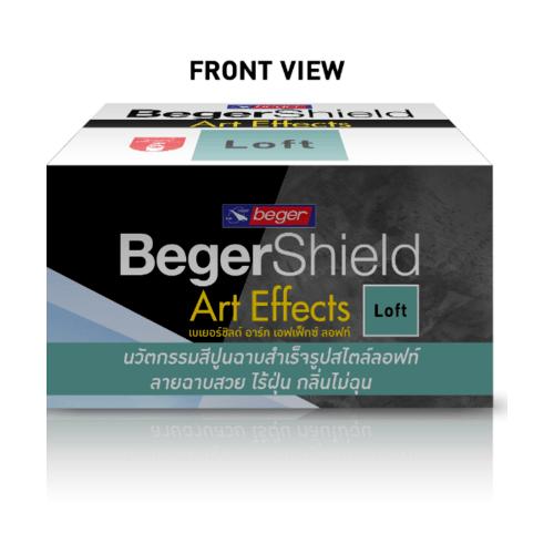 Beger สีเบเยอร์ชิลด์ อาร์ท เอฟเฟ็กซ์ ลอฟท์  #AF-0201(แดง)