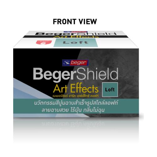 Beger สีเบเยอร์ชิลด์ อาร์ท เอฟเฟ็กซ์ ลอฟท์  AF-0202 (ส้ม)