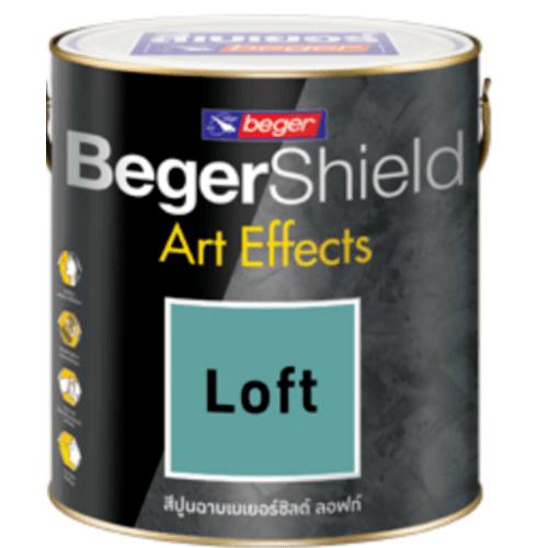 Beger สีเบเยอร์ชิลด์ อาร์ท เอฟเฟ็กซ์ ลอฟท์  #AF-0205 (เหลือง)