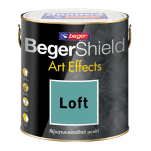 Beger สีเบเยอร์ชิลด์ อาร์ท เอฟเฟ็กซ์ ลอฟท์  (5gl.) #AF-0103 (เทาเข้ม)