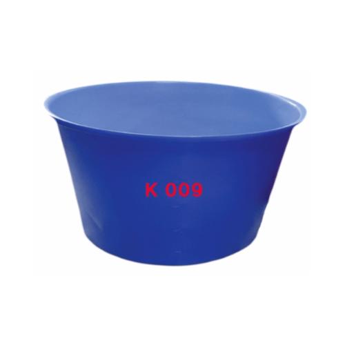 ถังปากกว้าง 580 ลิตร สีน้ำเงิน K009 น้ำเงิน