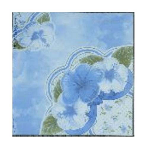 Bellecera 16x16 ลานตา บลู (6P) A. floor tiles