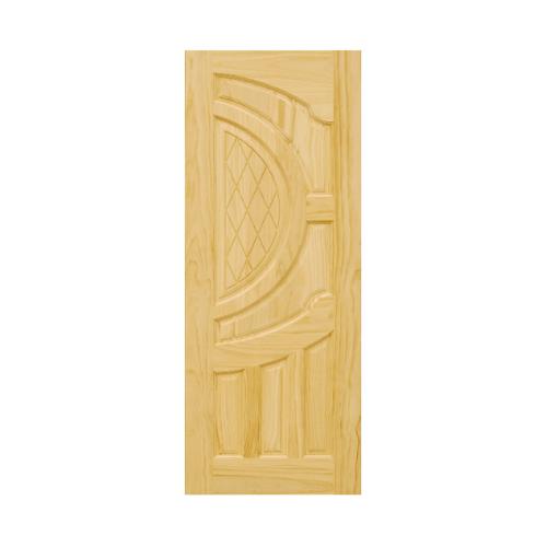 D2D ประตูไม้สนNz บานทึบลูกฟักแกะลาย ขนาด120 x 200 cm.  304