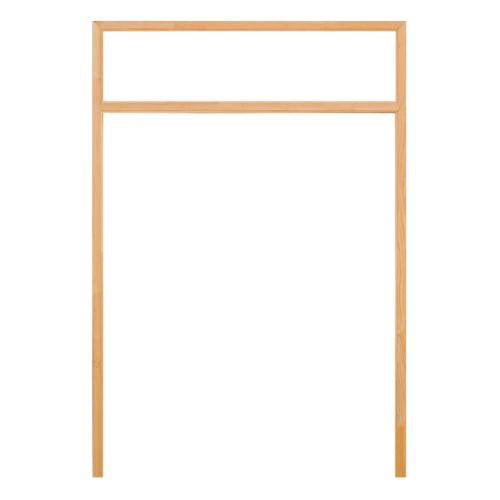 D2D วงกบประตู ไม้ดักลาสเฟอร์ ขนาด160x220cm. FJ(com.4)