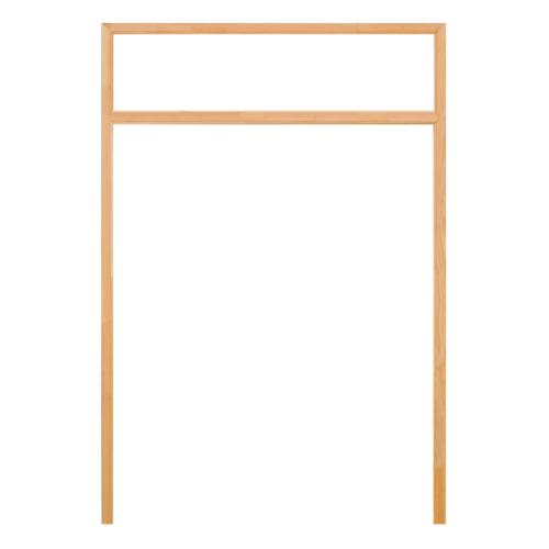 D2D วงกบประตูไม้ดักลาสเฟอร์ ขนาด160x200 cm.  FJ (COM.4)