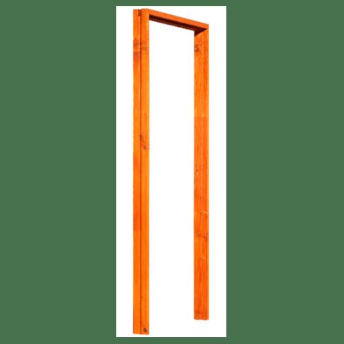 D2D วงกบประตูไม้ดักกลาสเฟอร์ ขนาด  80x200ซม.สีเบรินเรด FJ  COM.1