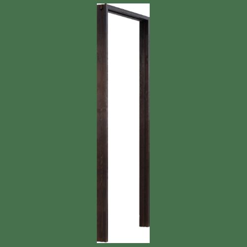 D2D วงกบประตูไม้ดักลาสเฟอร์ ขนาด 70x200cm. สีแบล็คแอช  D2D-FJ COM.1 ไม้ธรรมชาติ