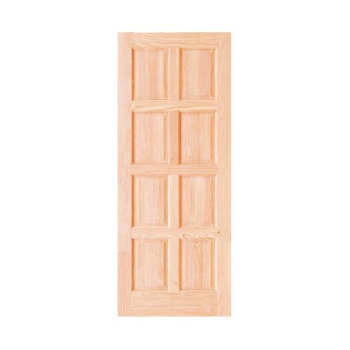D2D ประตู (ดักลาสเฟอร์)ขนาด80x200cm.  Eco Pine-016