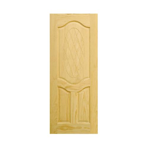 D2D ประตูไม้สนนิวซีแลนด์ ขนาด 90x200cm. 302