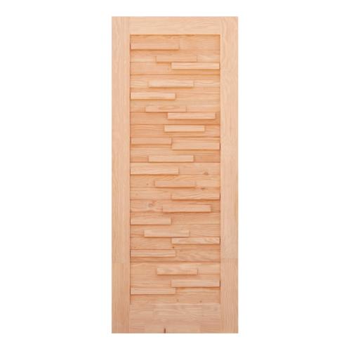 D2D ประตู (ดักลาสเฟอร์) ขนาด 50x233cm. Eco Pine-030