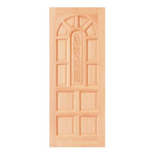 D2D ประตูไม้ดักลาสเฟอร์ขนาด  80x200cm.  Eco Pine-039