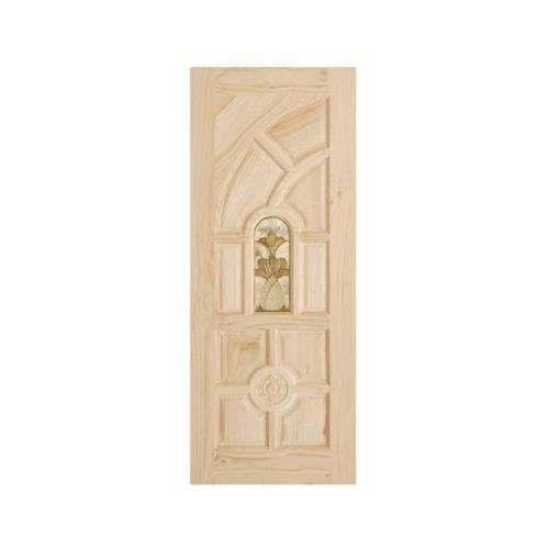 D2D ประตูไม้สนนิวซีแลนด์ ขนาด  80x200cm. 416