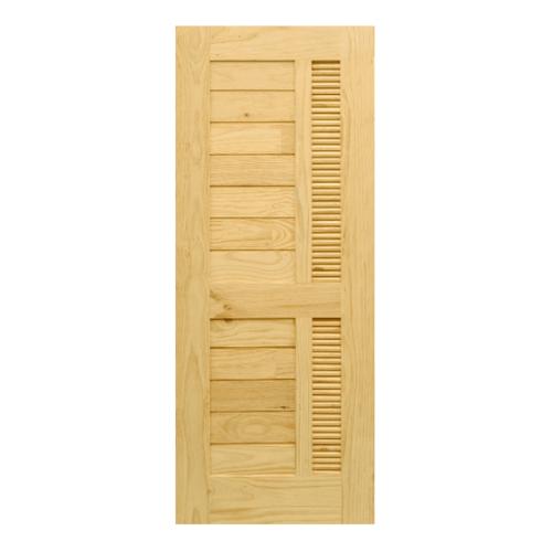 D2D ประตูไม้สนนิวซีแลนด์ ขนาด 70x195cm. Eco Pine-019