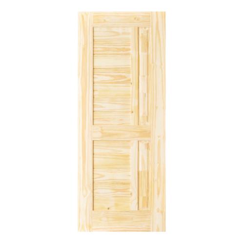 D2D ประตูไม้สนนิวซีแลนด์ ขนาด 80x203 cm. Eco Pine-007