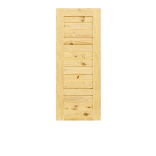 D2D ประตูไม้สนนิวซีแลนด์ ขนาด  70x200 cm.(A) Eco Pine-001
