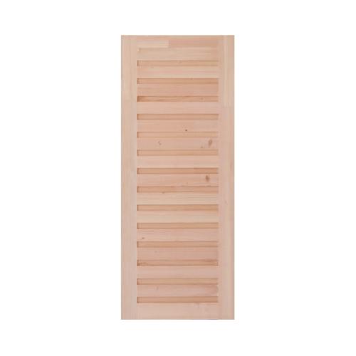 - ประตูไม้ดักลาสเฟอร์ ขนาด 100x220 cm. Eco Pine-031