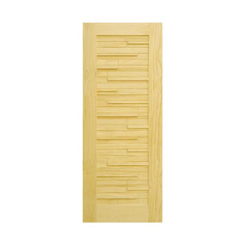 D2D ประตูไม้สนนิวซีแลนด์ ขนาด 70x200 cm. 501