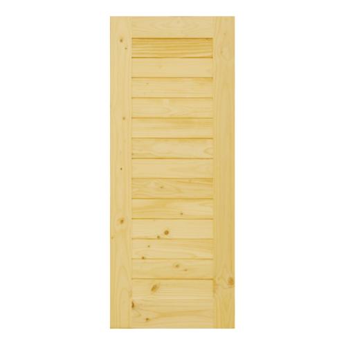 D2D ประตูไม้สนนิวซีแลนด์  ขนาด  75 x 210 cm. 103