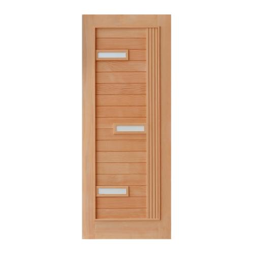 D2D ประตูไม้ดักลาสเฟอร์ ขนาด 80 x 200 cm. 511 Plus