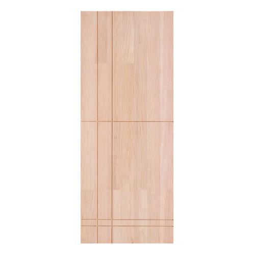 D2D ประตูไม้ดักลาสเฟอร์ ขนาด 90  x 200 cm. Eco Pine-056