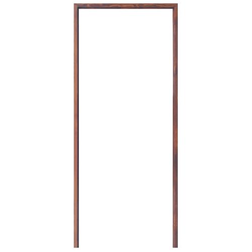D2D วงกบประตูไม้ดักลาสเฟอร์ 160 x 200 cm. FJ COM.2สีเชดนัท