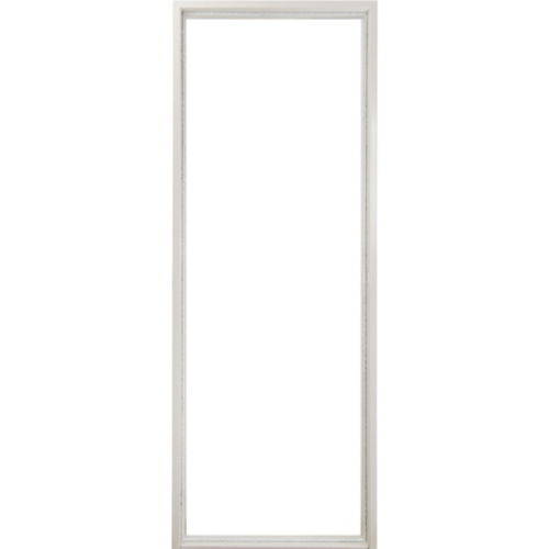 PROFESSIONAL DOOR วงกบประตูเหล็กกันไฟ (เปิดซ้าย) ขนาด  80x200ซม.  FFD1LW สีขาว