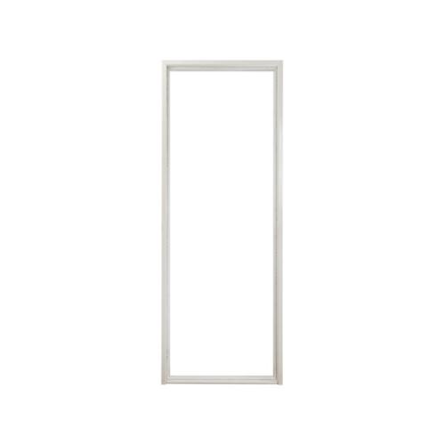 PROFESSIONAL DOOR วงกบประตูเหล็กกันไฟ  FFD100LC  100x200ซม. สีขาว