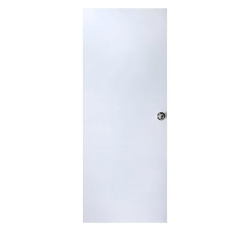 - บานประตูเหล็ก ขนาด 90x200cm. D2C