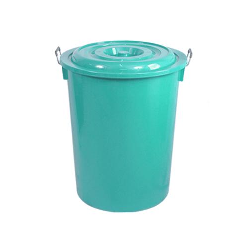 นำง่ายฮง ถังน้ำพร้อมฝา 55กล.   COPO  สีเขียว