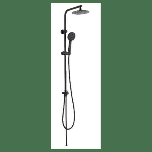 DMG ชุด Rain Shower ครบชุด แบบหัวกลม ปรับน้ำ 3 ระดับ SL-L728B  สีโครเมี่ยม