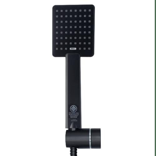 DMG DMG  Rain Shower ครบชุด แบบเหลี่ยม 1 ระดับ  SL-L729B สีดำ