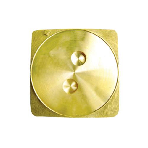 DONMARK ฝาส้วมทองเหลือง  GOS ทอง