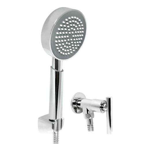 DONMARK ฝักบัวอาบน้ำสายโครเมี่ยม พร้อมวาล์ว  A-1023P34  สีโครเมี่ยม