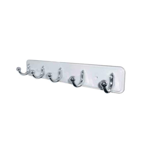 DONMARK ขอแขวนผ้า 5 ขอ พลาสติก ABS  DM-502(W) สีขาว