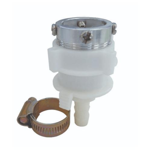 DONMARK หัวข้อต่อก๊อกน้ำเข้าเครื่องซักผ้า  TRM-AC01 สีขาว
