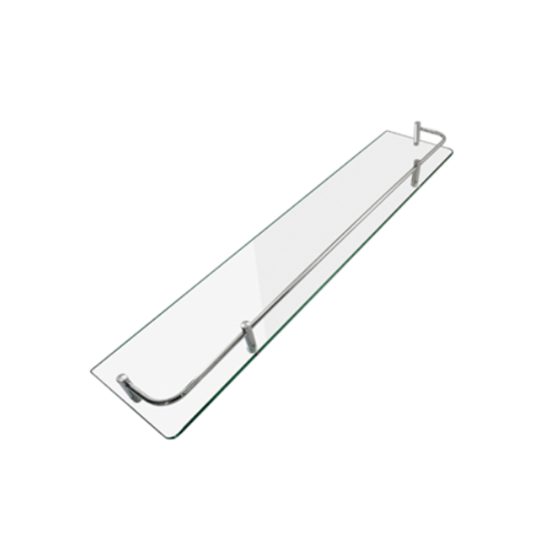 DONMARK ชั้นวางกระจกขอบสเตนเลส 304ยาว50CM. GB-202