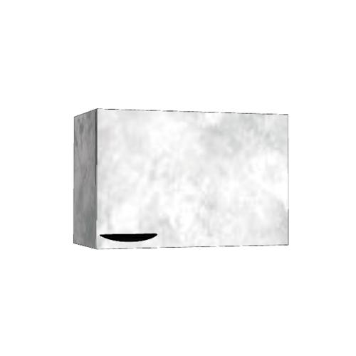 MJ ตู้แขวนเดี่ยว  - สีหินอ่อนขาว GC-W406 - WM