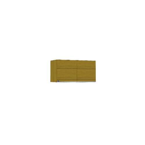 ตู้แขวนคู่บานทึบตรง SAV-W408-CA สีคาปูชิโน MJ  คาปูชิโน
