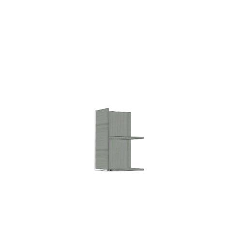 ตู้แขวนเสริม SAV-WS604-GW สีเทาลายไม้ MJ  เทา
