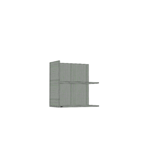 ตู้แขวนเสริม SAV-WS606R-GW สีเทาลายไม้ MJ  เทา
