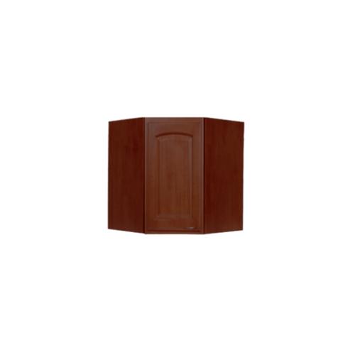 ตู้เข้ามุมหกเหลี่ยมทึบโค้ง WC8036C-O สีโอ๊ค MJ  โอ๊ค