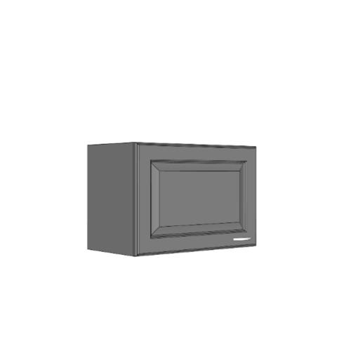 MJ ตู้แขวนเสริม W406-W/G สีขาว/เทา MJ  ขาว-เทา