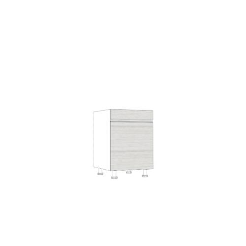 ตู้ตั้งพื้นบานเปิดเดี่ยว SAV-JWS826-W สีขาว MJ  ขาว