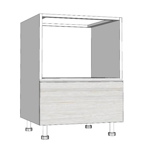 MJ ตู้ตั้งพื้นไมโครเวฟ+ลิ้นชัก สีขาว SAV-JFOV8264A -W สีขาว