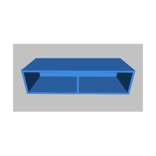MJ ตู้แขวนเสริม สีฟ้า WS208A